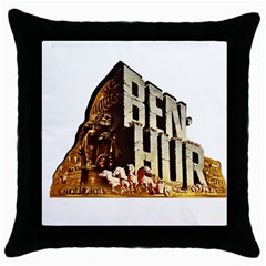 Ben Hur Throw Pillow Case (Black)