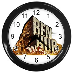 Ben Hur Wall Clocks (Black)