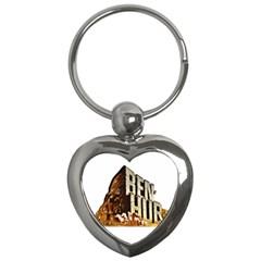 Ben Hur Key Chains (Heart)