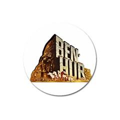 Ben Hur Magnet 3  (Round)
