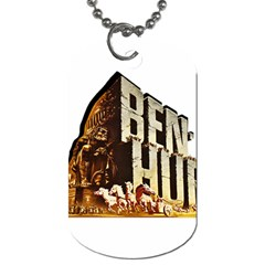 Ben Hur Dog Tag (Two Sides)