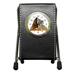 Ben Hur Pen Holder Desk Clocks