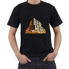 Ben Hur Men s T-Shirt (Black) (Two Sided)