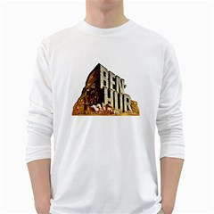 Ben Hur White Long Sleeve T-Shirts