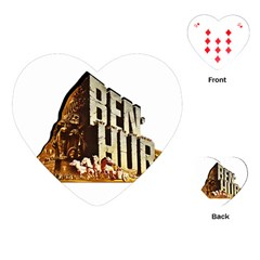 Ben Hur Playing Cards (Heart)