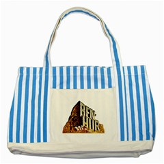Ben Hur Striped Blue Tote Bag