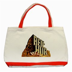 Ben Hur Classic Tote Bag (Red)