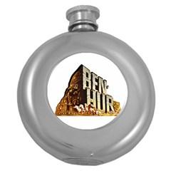 Ben Hur Round Hip Flask (5 oz)