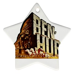 Ben Hur Star Ornament (Two Sides)