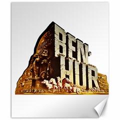 Ben Hur Canvas 8  x 10
