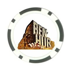 Ben Hur Poker Chip Card Guard (10 pack)