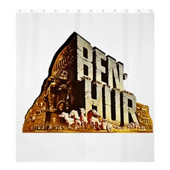 Ben Hur Shower Curtain 66  x 72  (Large)