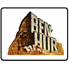 Ben Hur Fleece Blanket (Medium)
