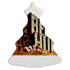 Ben Hur Christmas Tree Ornament (Two Sides)