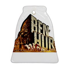 Ben Hur Bell Ornament (Two Sides)