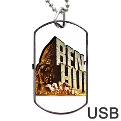 Ben Hur Dog Tag USB Flash (Two Sides)