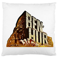 Ben Hur Large Flano Cushion Case (One Side)