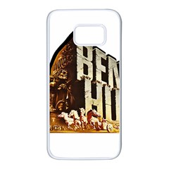 Ben Hur Samsung Galaxy S7 White Seamless Case