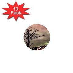 Fantasy Landscape Illustration 1  Mini Magnet (10 pack)