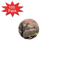 Fantasy Landscape Illustration 1  Mini Magnets (100 pack)
