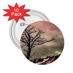Fantasy Landscape Illustration 2.25  Buttons (10 pack)