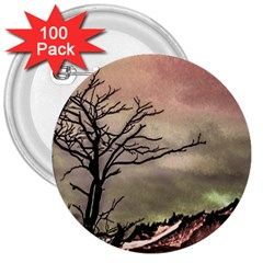 Fantasy Landscape Illustration 3  Buttons (100 pack)