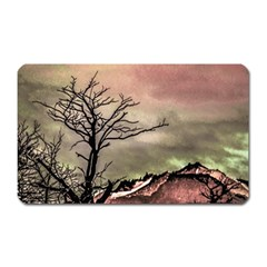 Fantasy Landscape Illustration Magnet (Rectangular)