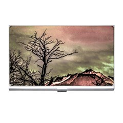 Fantasy Landscape Illustration Business Card Holders