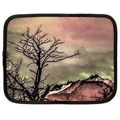Fantasy Landscape Illustration Netbook Case (Large)