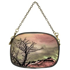 Fantasy Landscape Illustration Chain Purses (Two Sides)
