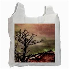 Fantasy Landscape Illustration Recycle Bag (Two Side)