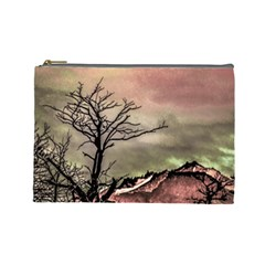 Fantasy Landscape Illustration Cosmetic Bag (Large)