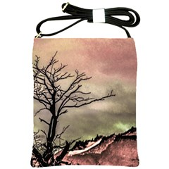 Fantasy Landscape Illustration Shoulder Sling Bags