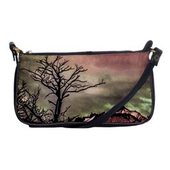 Fantasy Landscape Illustration Shoulder Clutch Bags