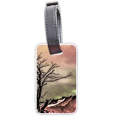 Fantasy Landscape Illustration Luggage Tags (Two Sides)