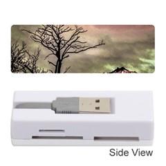 Fantasy Landscape Illustration Memory Card Reader (Stick)