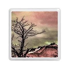 Fantasy Landscape Illustration Memory Card Reader (Square)
