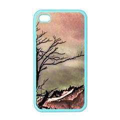 Fantasy Landscape Illustration Apple iPhone 4 Case (Color)