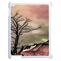 Fantasy Landscape Illustration Apple iPad 2 Case (White)