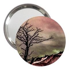 Fantasy Landscape Illustration 3  Handbag Mirrors