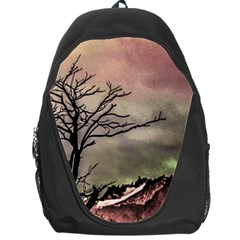 Fantasy Landscape Illustration Backpack Bag
