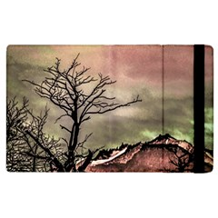 Fantasy Landscape Illustration Apple iPad 3/4 Flip Case