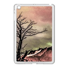Fantasy Landscape Illustration Apple iPad Mini Case (White)