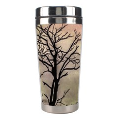 Fantasy Landscape Illustration Stainless Steel Travel Tumblers