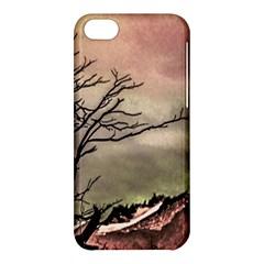 Fantasy Landscape Illustration Apple iPhone 5C Hardshell Case