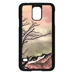 Fantasy Landscape Illustration Samsung Galaxy S5 Case (Black)