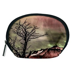 Fantasy Landscape Illustration Accessory Pouches (Medium)