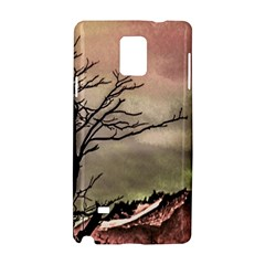 Fantasy Landscape Illustration Samsung Galaxy Note 4 Hardshell Case