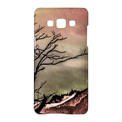 Fantasy Landscape Illustration Samsung Galaxy A5 Hardshell Case