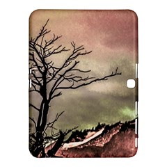 Fantasy Landscape Illustration Samsung Galaxy Tab 4 (10.1 ) Hardshell Case